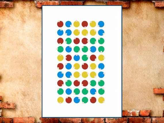 Rows Of Colored Balls Will Not Only Decorate The Nursery, But Also Help The  Child To Learn To Count And Distinguish Colors. Childrens Art. Childrens  Poster.