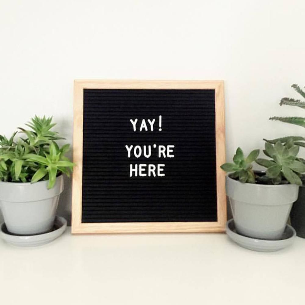 felt letter board quote and home decor ideas 10x10 felt letter board black felt letter board from felt like sharing