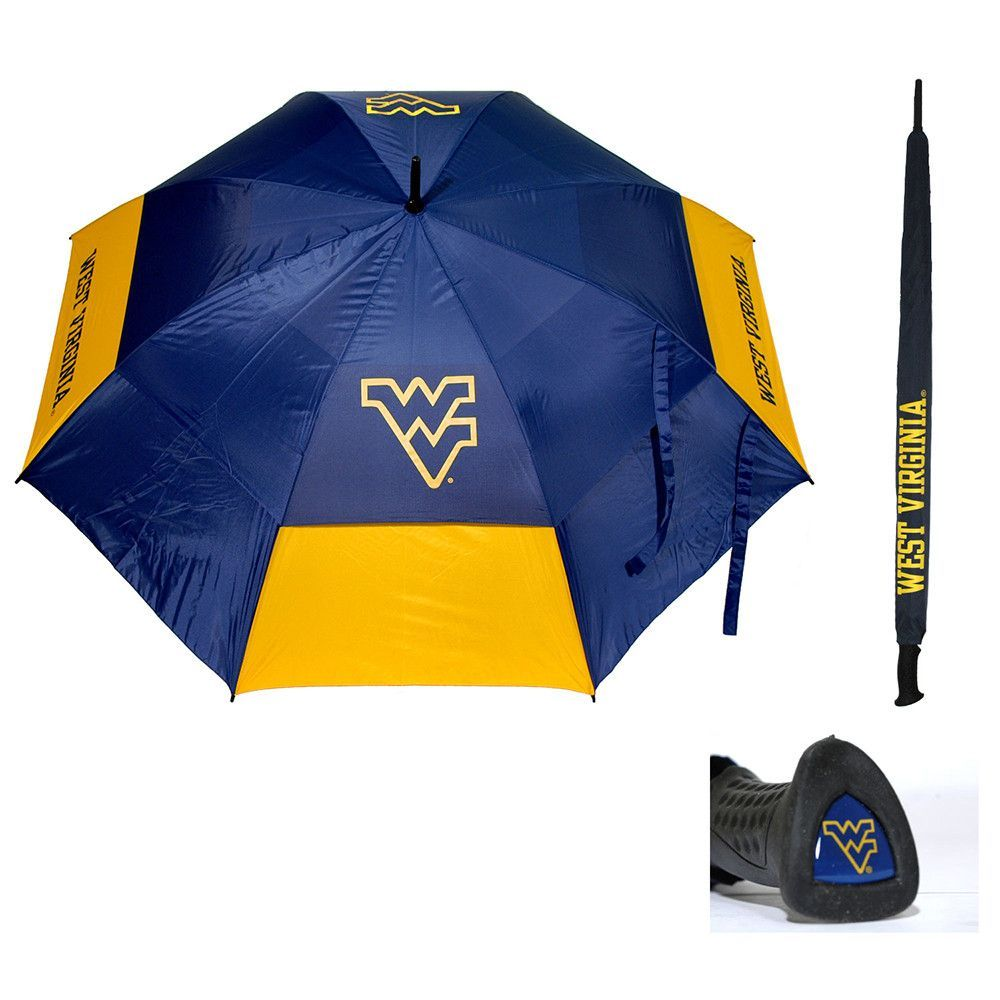 West Virginia Mountaineers NCAA 62 inch Double Canopy Umbrella  sc 1 st  Pinterest & West Virginia Mountaineers NCAA 62 inch Double Canopy Umbrella ...