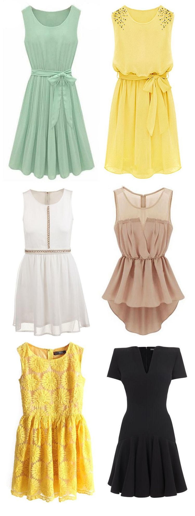 Adorable Dresses! Layer these up to make them perfect for Fall.