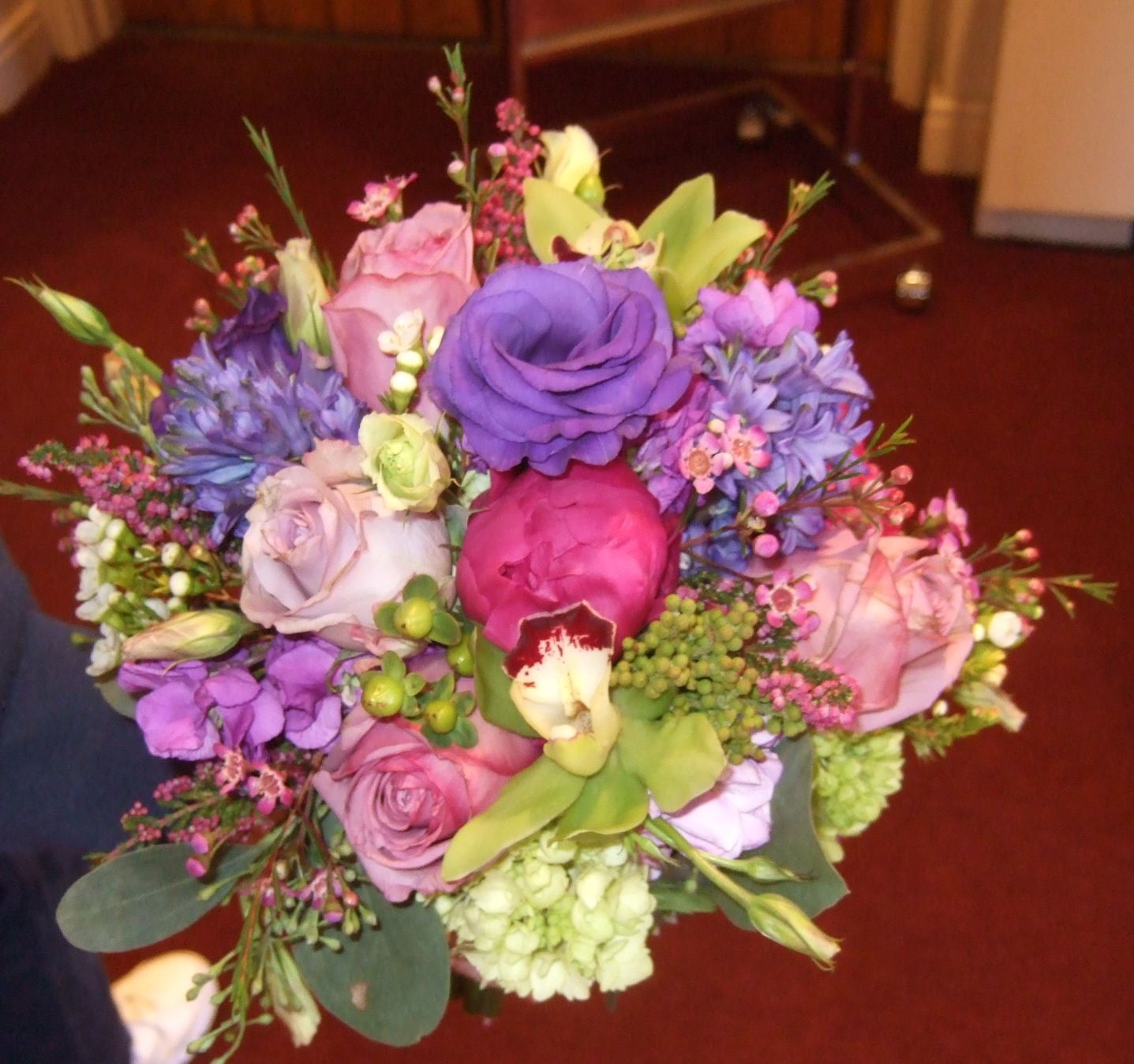 a bouquet we did for a wedding in charlotte nc fragrant garden roses and peonies are the stars. Black Bedroom Furniture Sets. Home Design Ideas