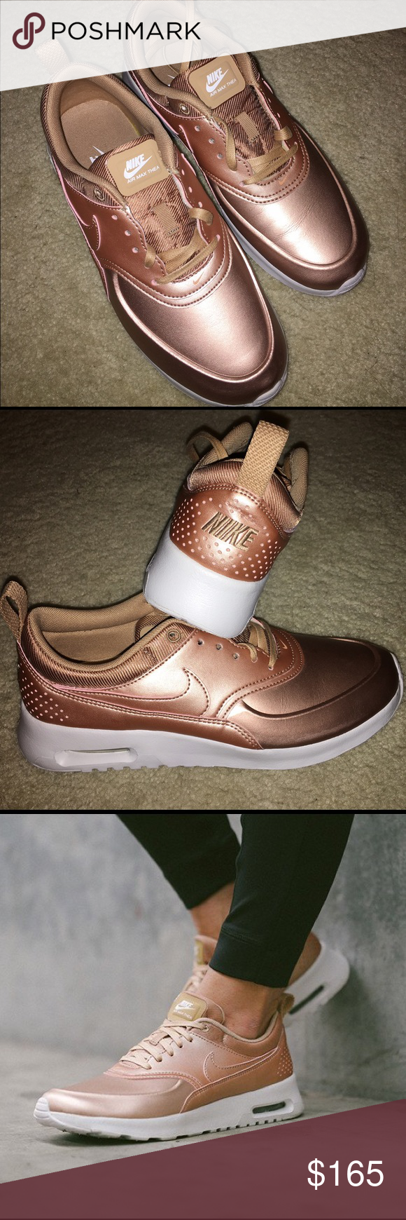 0ba4f819acf8 Nike Air Max Thea SE Rose Gold Size 7.5 Limited edition (hard to find!