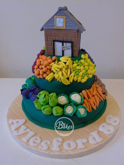 Super Supermarket Themed Cake By Bubakes To Celebrate A New Aldi Opening Funny Birthday Cards Online Hetedamsfinfo