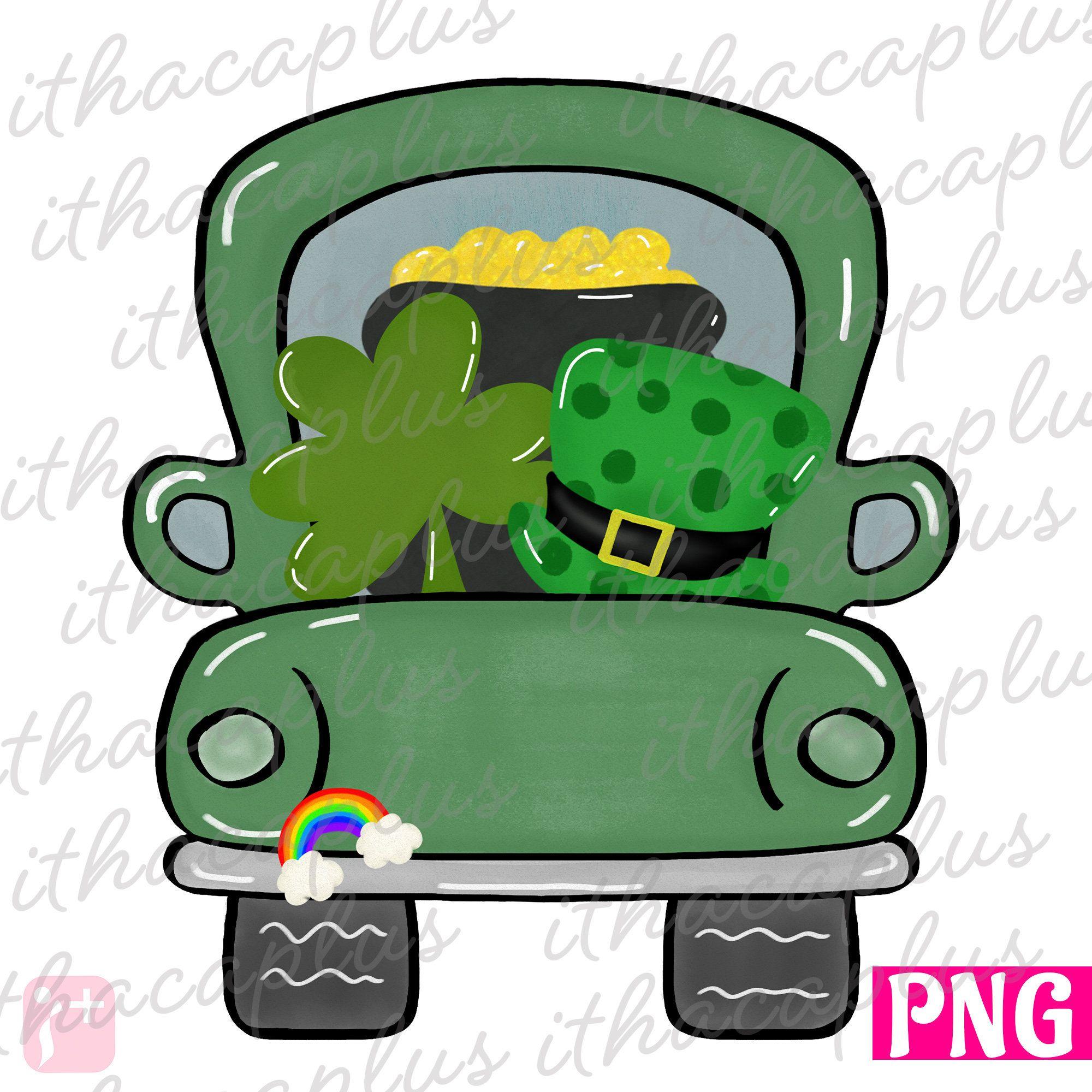 St Patrick S Day Png St Patrick S Truck Etsy In 2021 St Patricks Day Wallpaper St Patrick S Day Crafts St Patricks Crafts