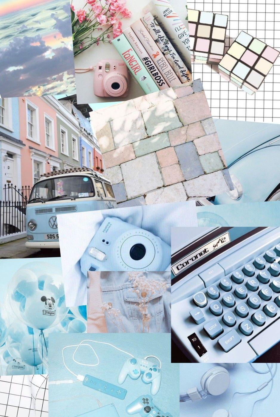 Unduh 76+ Background Tumblr Biru Terbaik
