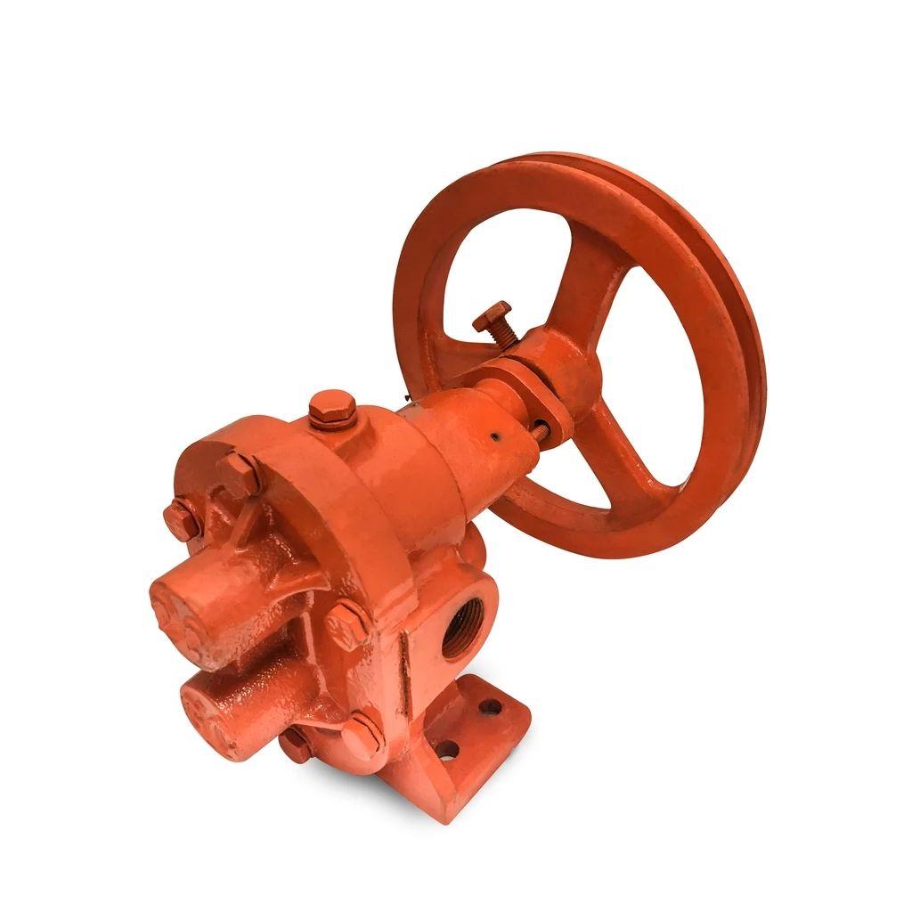 Belt pulley gear pump centrifugal pump gear pump