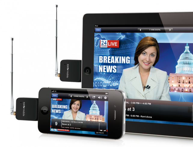 EyeTV Mobile Watch live TV on your iPad and iPhone with