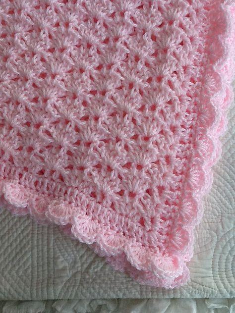 Pink Baby Afghan Pink Crochet Baby Afghan Crochet Baby Etsy Baby Afghan Crochet Pink Baby Afghan Crochet Baby