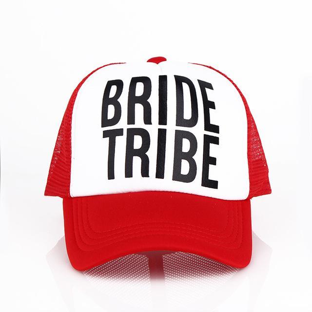 b7297ebdd45 Bride Bride Tribe Bachelorette Mesh Hats