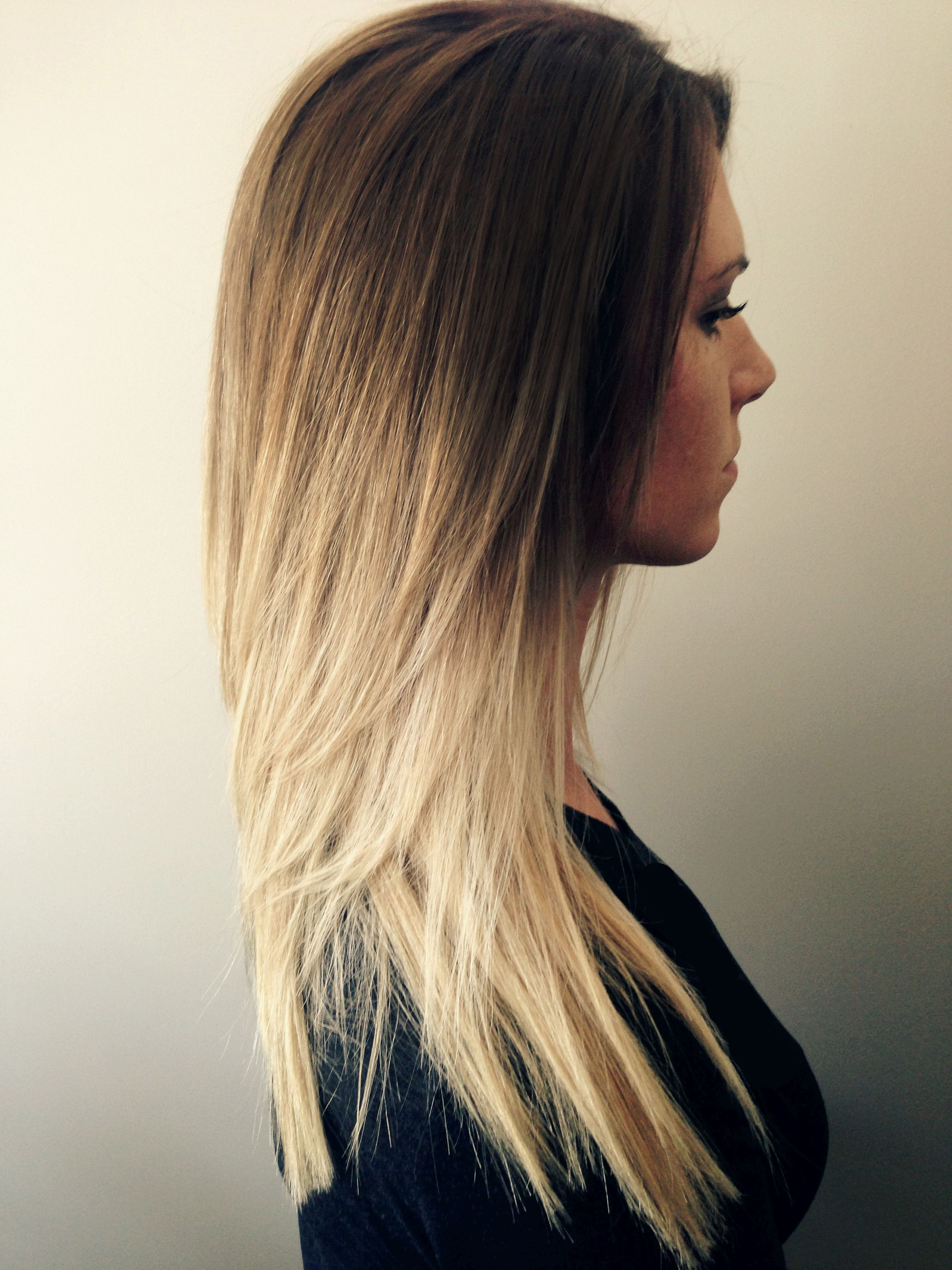 Gorgeous low maintenance hair color honey golden brown to a