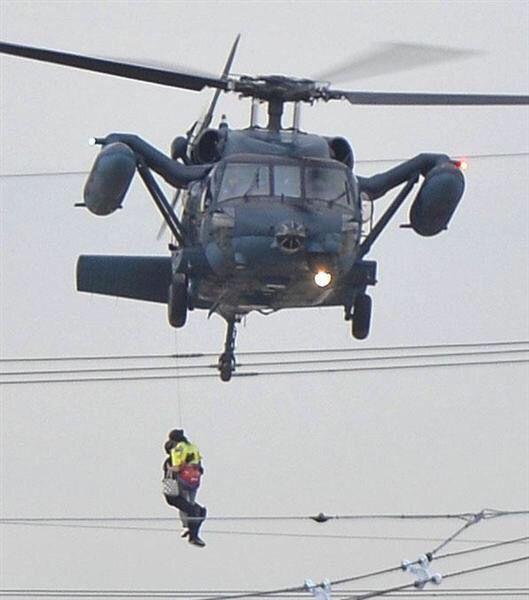 JSDF disaster relief, 10 September 2015