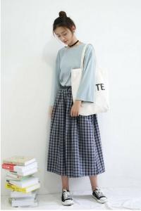 Gaya Ke Kampus Ala Fashion Style Cewek Korea Styling Pod Gaya Model Pakaian Gaya Berpakaian Gaya Model Pakaian Korea