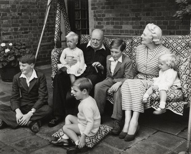 Wife And Children Sept 12 1908 Winston Churchill First
