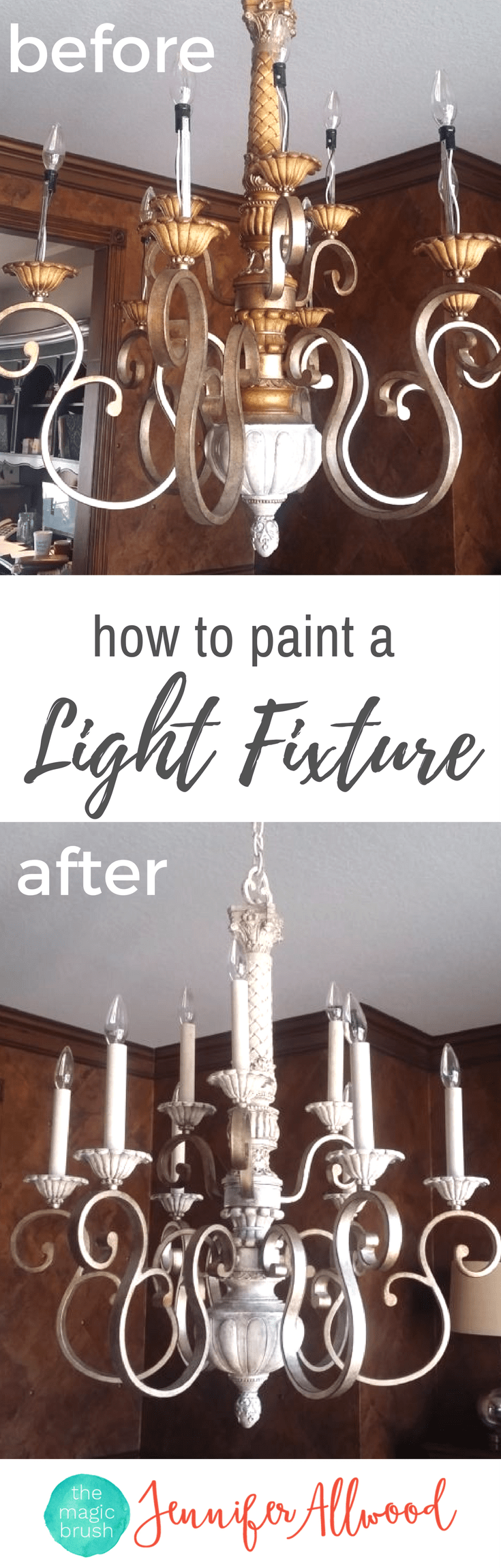 Painting light fixtures and chandeliers painted light fixtures painting light fixtures and chandeliers magic brush arubaitofo Choice Image