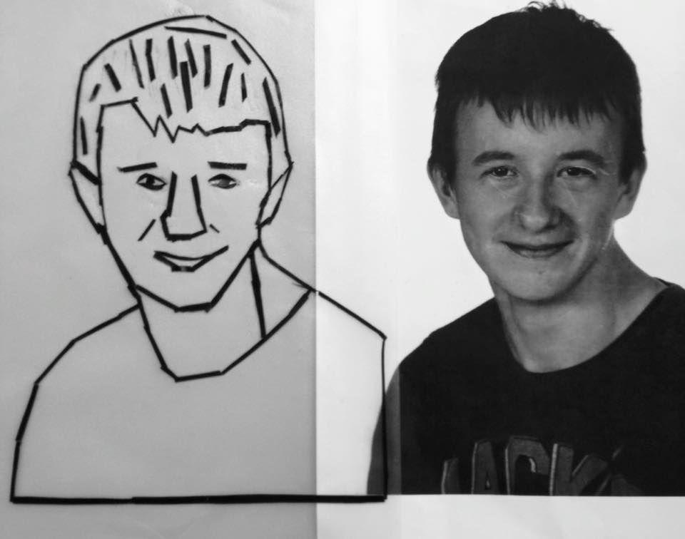 Tape portret