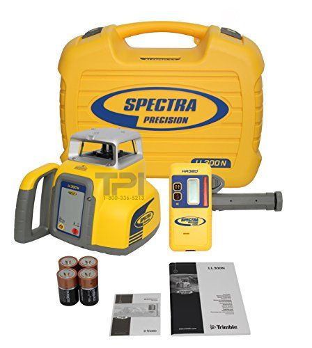 New Trimble Spectra Precision Ll300 Self Leveling Rotary Laser Level Laser Levels Construction Applications Rotary