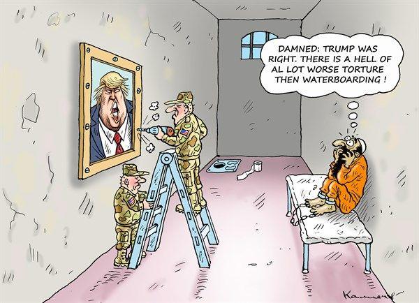 Trump Satire Deutsch