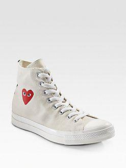 Comme des Garcons - High-Top Canvas Sneakers