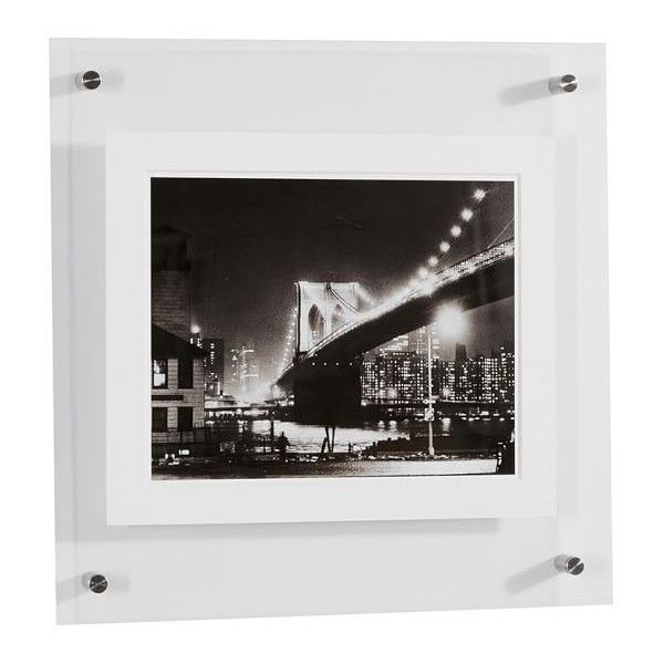 Pottery Barn Acrylic Gallery Frames ($149) ❤ liked on Polyvore ...