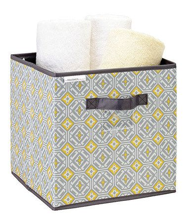 Take a look at this Jeanie Gypsy Medium Storage Cube by The MacBeth Collection on #zulily today!