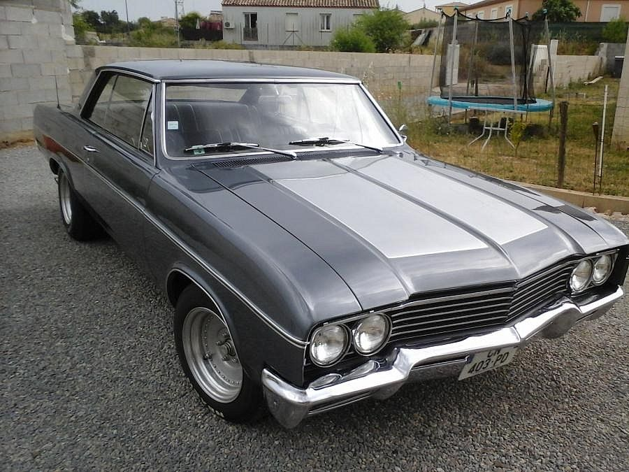 buick skylark v8 coup gris occasion 19 000 134 417 km vente de voiture d 39 occasion. Black Bedroom Furniture Sets. Home Design Ideas