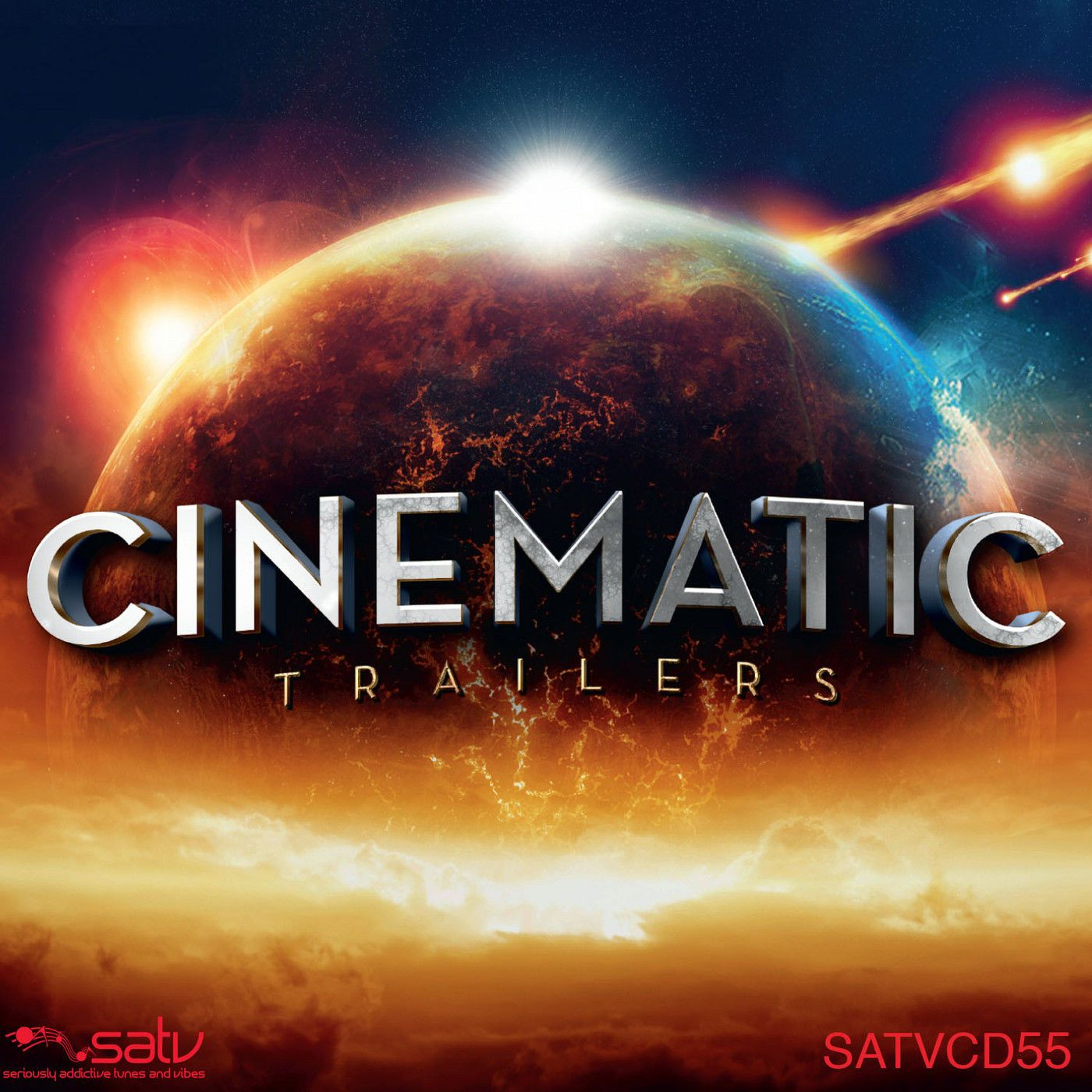 """Preview, buy and download songs from the album Cinematic Trailers, including """"Protector"""", """"Arch of Titan"""", """"Virtus"""" and many more. Buy the album for £3.99. Songs start at £0.79."""