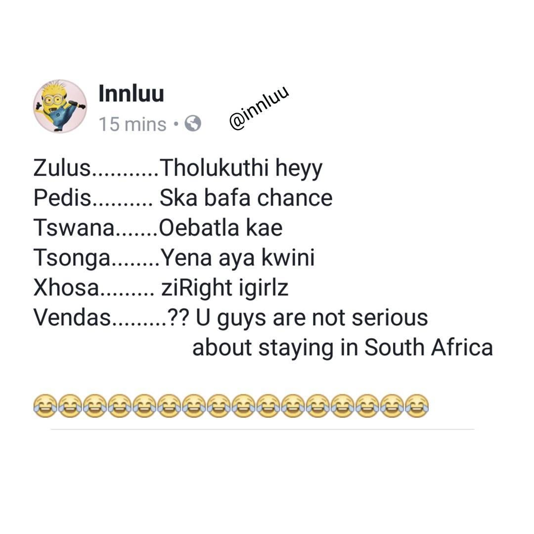 1 870 Likes 169 Comments Luu Innluu On Instagram Notmyhandwriting Humour Xhosa Word Search Puzzle