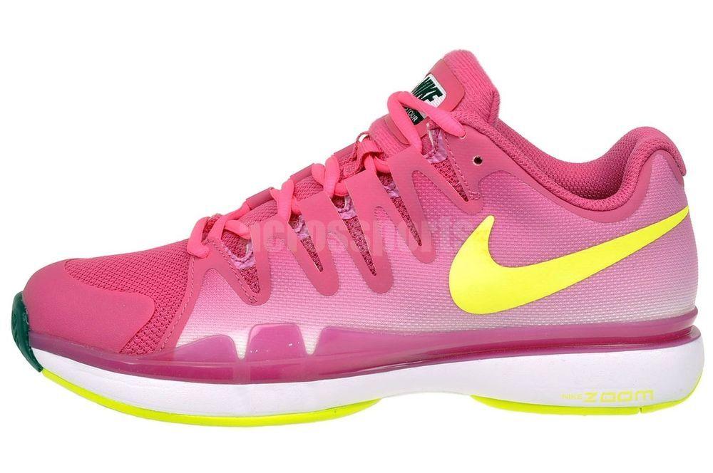 NEW Women's Nike Zoom Vapor 9.5 Tour Tennis Shoe Sneakers 631475-676 US Size 8  #Nike #Athletic
