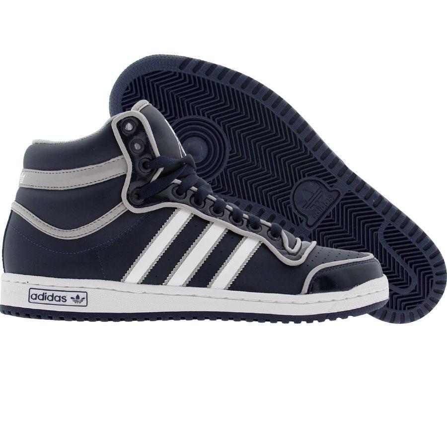 Adidas Top Ten High (college navy / runninwhite / aluminum) G17748 - $74.99