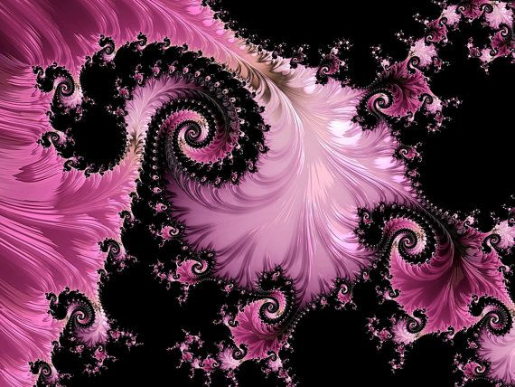 Pin By Amy Brown On Scorpionqn In 2021 Fractal Art Fractals Etsy Wall Art