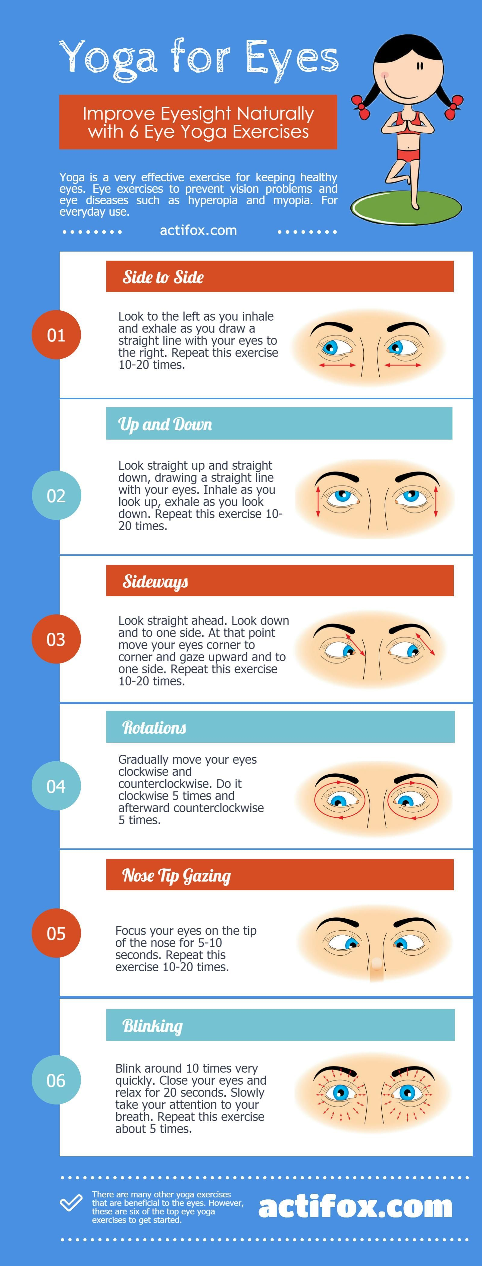 Yoga For Eyes Top 6 Exercises To Improve Eyesight