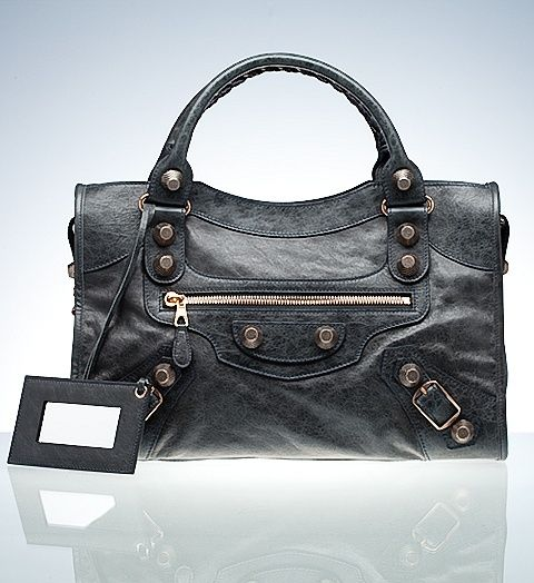 588046d099 Balenciaga Anthracite Giant City Rose Gold Hardware
