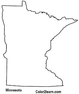State Of Minnesota Coloring Page Coloring Pages Minnesota Flag