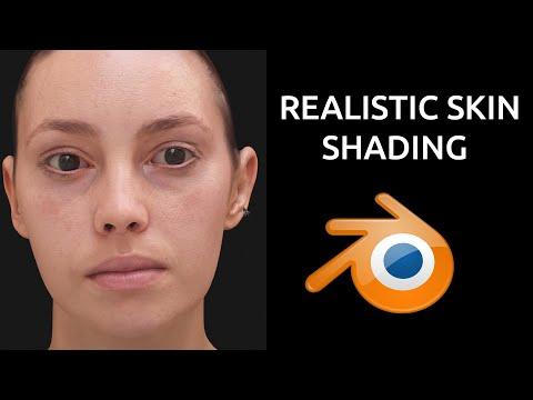 寫實皮膚 Realistic Skin Blender, Tutorial