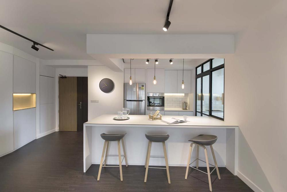 Best Compassvale Ancilla Minimalism Hdb Interior Design Open 400 x 300