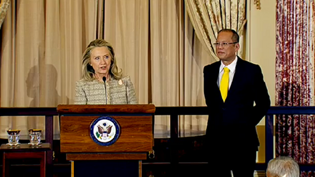 """US to help build Philippine Coast Watch.."" --US Secretary of State Hillary Clinton [June 9, 2012]"