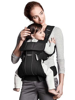 Ergonomic carrying with BABYBJÖRN Baby Carrier One – sturdy waist ...