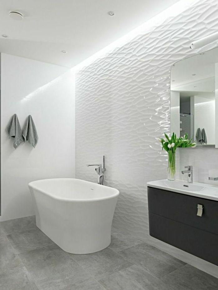 Le carrelage effet béton en 55 photos inspirantes | Bathroom tiling ...