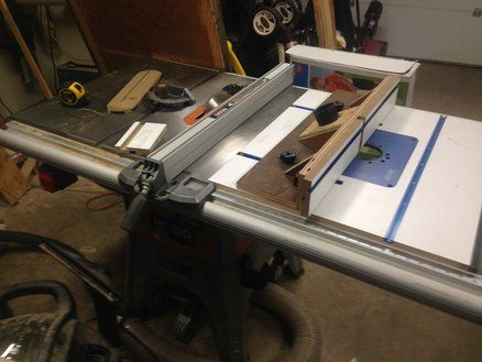 Router Table In Ridgid R4512 Saw Stuff I Should