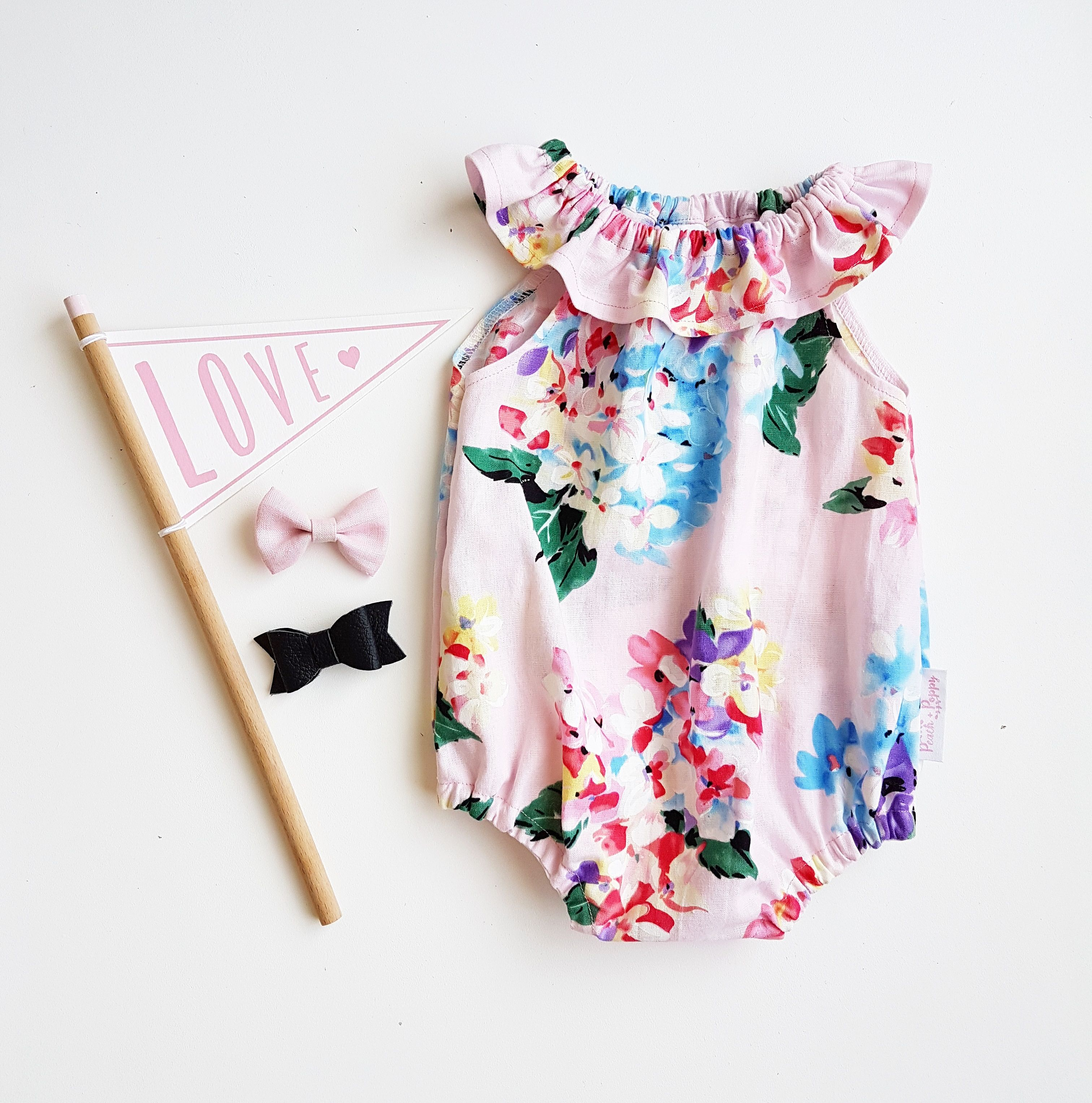 Playsuit, Fashion, Floral Tops