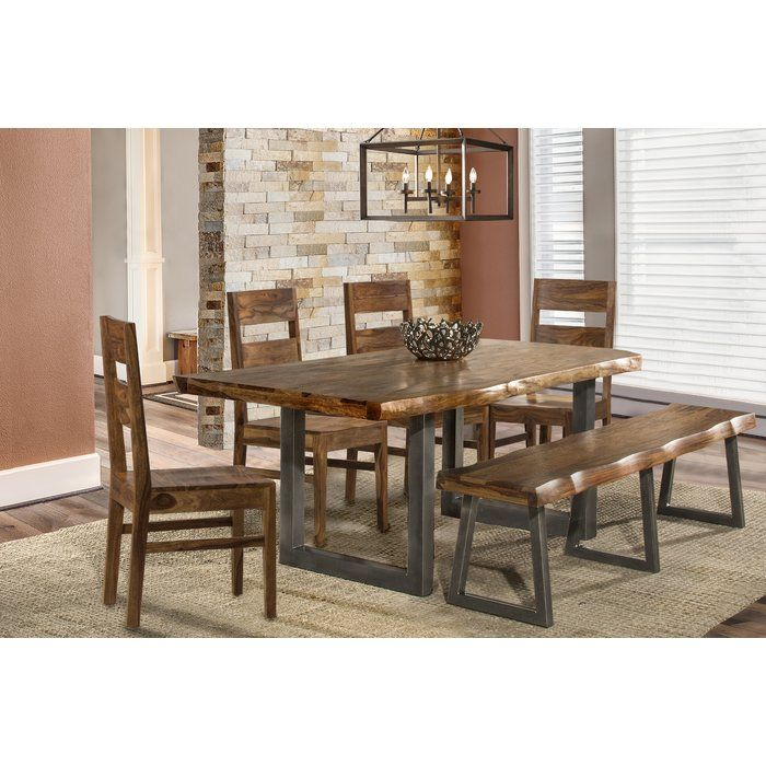 Thomasson 6 Piece Solid Wood Dining Set Home Dining Room Sets