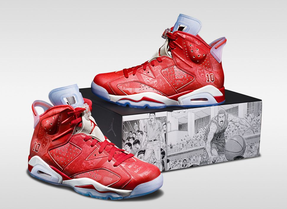 competitive price a09cc 620b3 Slam Dunk x Air Jordan 6 Retro & Jordan Super.Fly 3 | Basketball ...