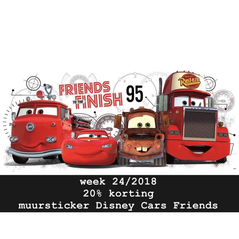 Muursticker Disney Cars Friends 1 Sticker 99 X 41 Cm Sticker Zo Voor De Leukste Interieur Stickers Muurstickers Disney Cars Raamstickers [ 1000 x 1000 Pixel ]