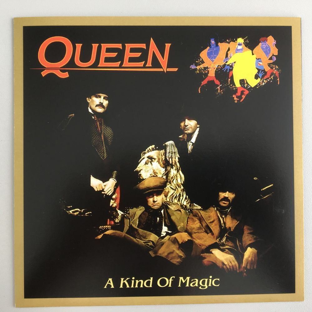 Queen A Kind Of Magic Spain Unique Sleeve Uk Vinyl Single