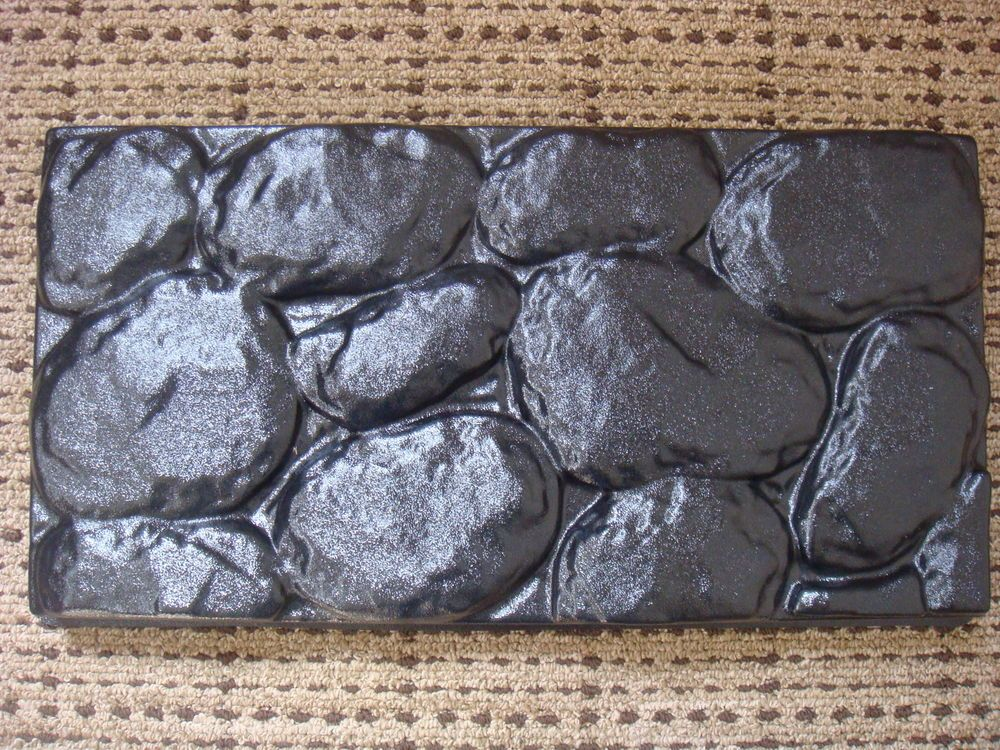 Diy Concrete Fieldstone Plastic Mold Pavers Stone Rock Garden Patio New Paver Stones Concrete Diy Molding