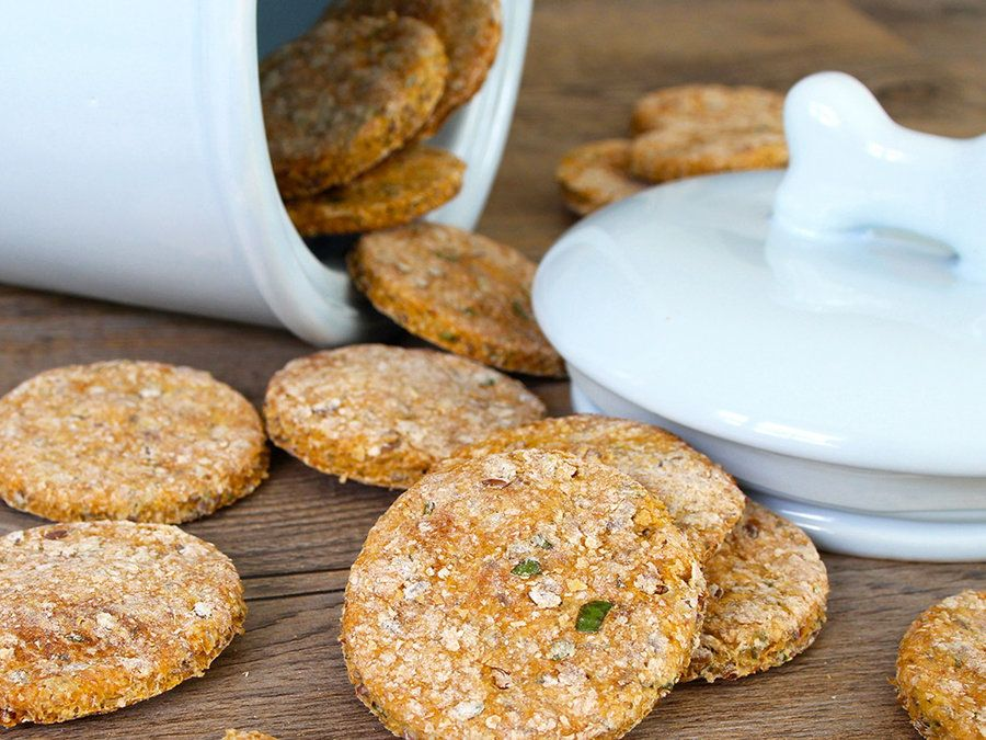 The cookie every dog dreams of… Use uncured bacon and low-sodium broth to make this treat a must-have for your dog.   View Recipe:Bacon Cookies