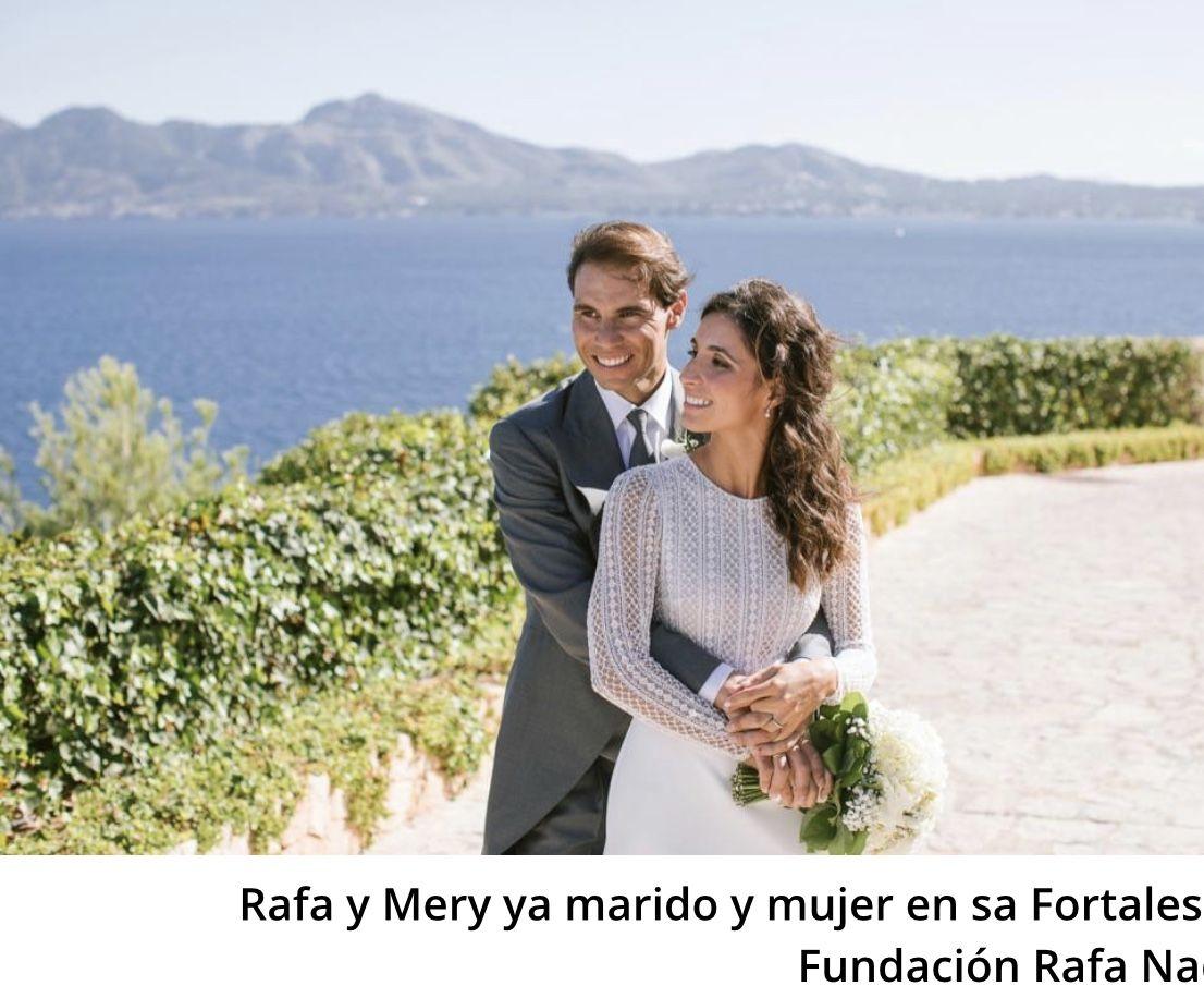 Rafa Nadal y Mery Perell publican las fotograf as