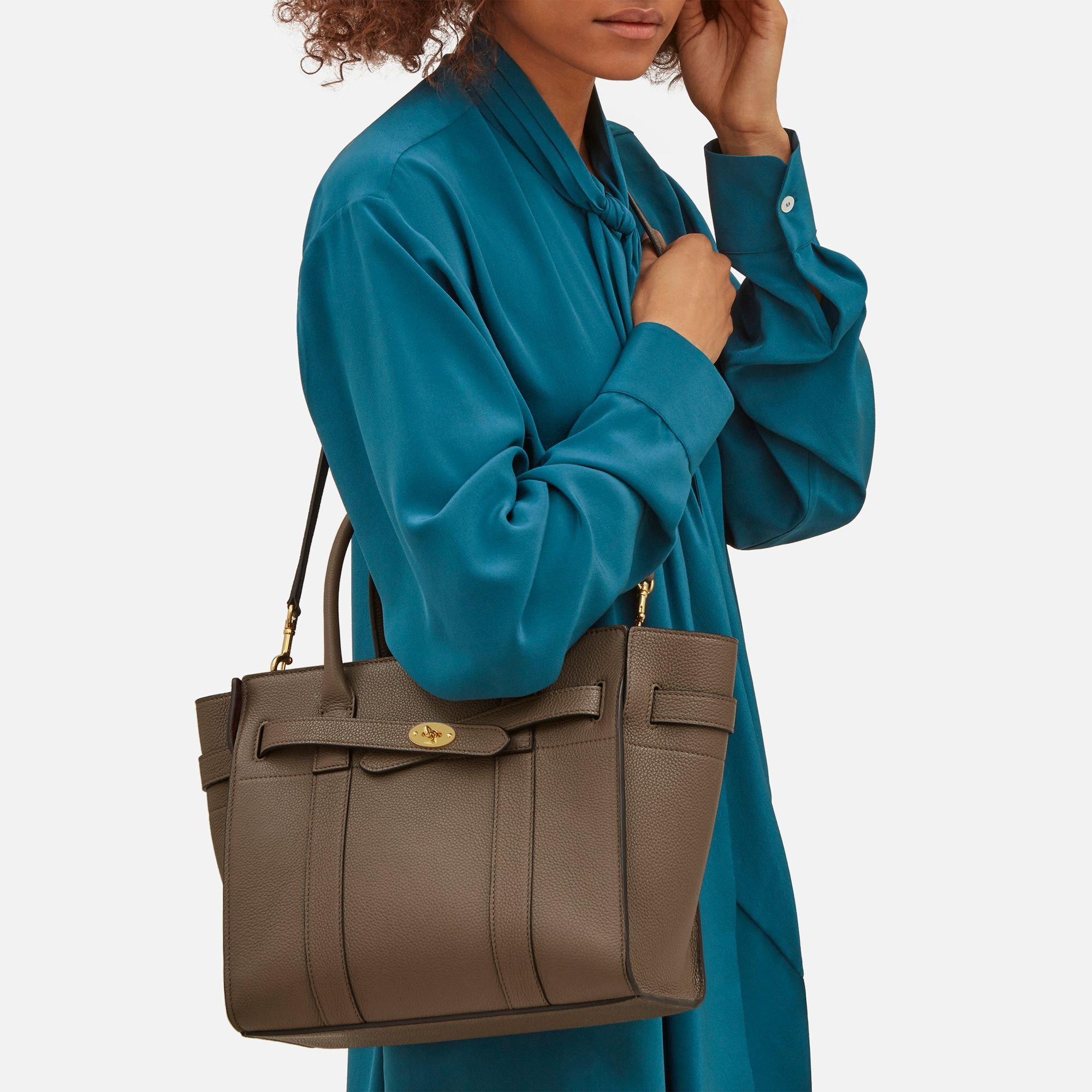 a692273c3b82 Shop the Small Zipped Bayswater in Clay Leather at Mulberry.com. The  Bayswater is