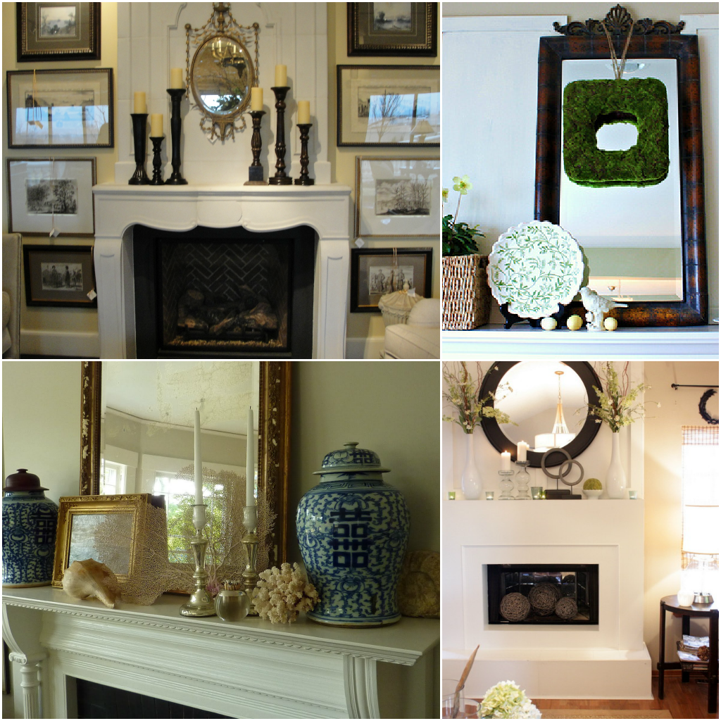 Furniture: Enchanting Fireplace Mantels Decorating Ideas, Stylish ...