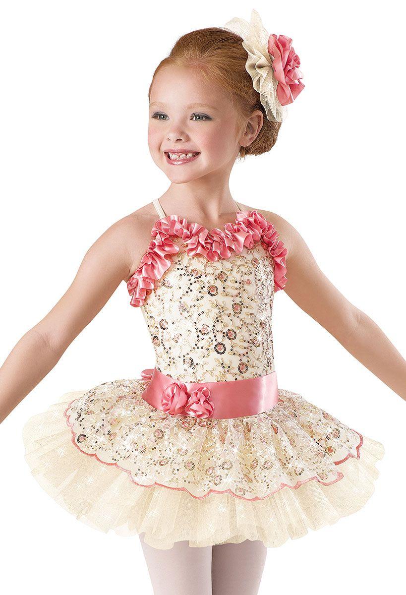 1fc956d6cd8a Ella s recital costume 2014 - Embroidered Floral Tutu Dress ...